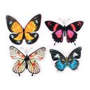 30 colorful butterfly stickers